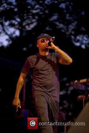 Nas performs at Nas & Damian Marley at Central Park SummerStage New York City, USA - 11.08.11