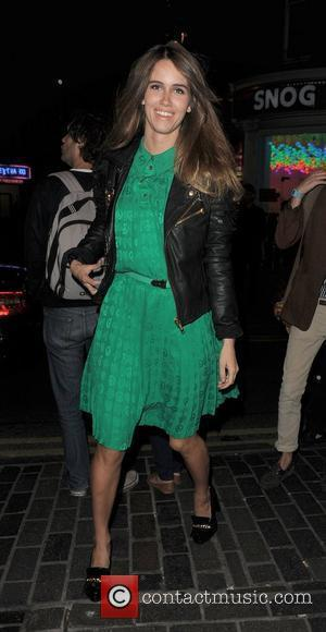 Sunday Girl aka Jade Williams out and about in Soho London, England - 07.09.11