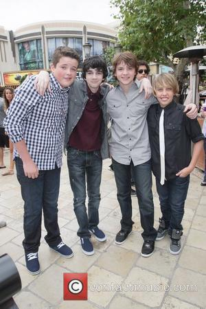 Riley Griffiths, Joel Courtney, Ryan Lee and Zach Mills