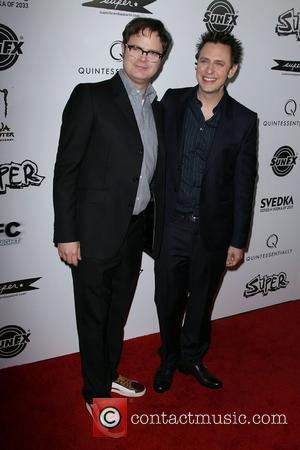 Rainn Wilson and James Gunn