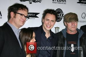 Rainn Wilson, Ellen Page, James Gunn and Michael Rooker