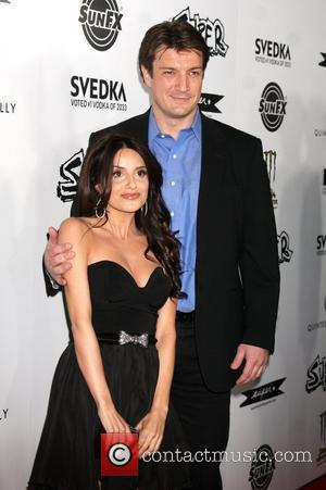 Nathan Fillion, Mikaela Hoover Los Angeles Premiere of Super held at The Egyptian Theatre Hollywood, California - 21.03.11