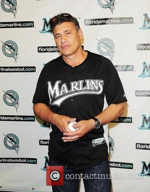 Steven Bauer attends the Florida Marlins Vs. The Washington National Baseball game Super Saturday Concert at Sun Life Stadium. Miami,...