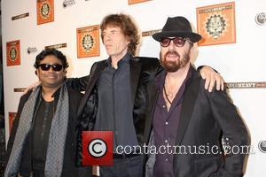 A.R.Rahman, Mick Jagger and Dave Stewart Members of Sir Mick Jagger's new supergroup Superheavy celebrate the release of their self-titled...