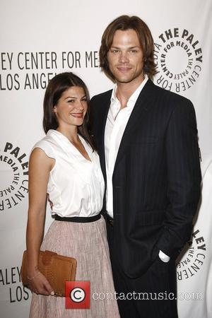Jared Padalecki, Genevieve Cortese,  at the Supernatural PaleyFest 2011held at the Saban Theatre - Arrivals Beverly Hills, California -...