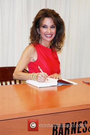 Susan Lucci  signs copies of her book 'All My Life: A Memoir' at Barnes & Noble, 5th Avenue New...