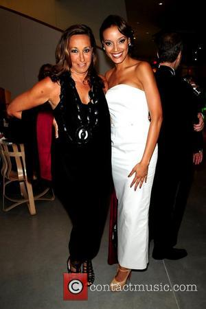 Donna Karan and Selita Ebanks