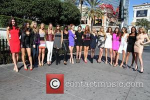 2011 Sports Illlustrated Swimsuit Models Portion of Las Vegas Boulevard temporarily renamed 'Swimsuit Boulevard' in honour of the 2011 Sports...