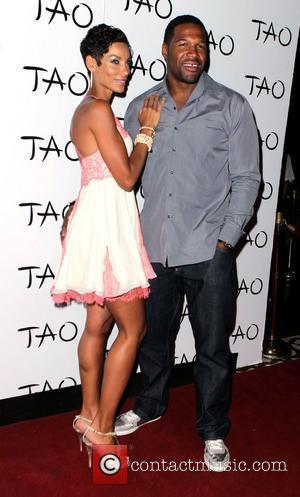 Nicole Murphy and Michael Strahan Swizz Beatz spins a special DJ set for Pre-Fight Party at the Tao Nightclub at...