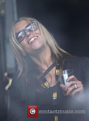 Nicole Appleton watches Beady Eye perform T In The Park 2011 Music Festival - Day 3 Kinross, Scotland - 10.07.11