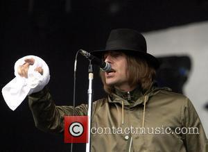 Liam Gallagher Beady Eye perform  T In The Park 2011 Music Festival - Day 3  Kinross, Scotland -...