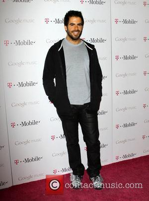 Eli Roth Celebrity Magenta Carpet Arrivals At The Launch Party For Google Music Available On T-Mobile held at Mr Brainwash...