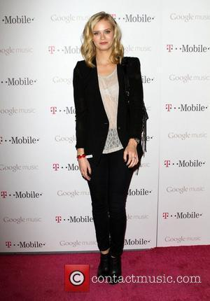 Sara Paxton Celebrity Magenta Carpet Arrivals At The Launch Party For Google Music Available On T-Mobile held at Mr Brainwash...