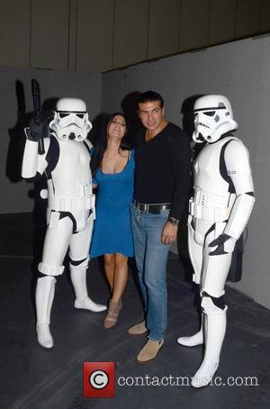 Tamer Hassan with Stormtroopers and guest London Movie Comic Media Expo 2011 at The Excel Centre London, England - 30.10.11
