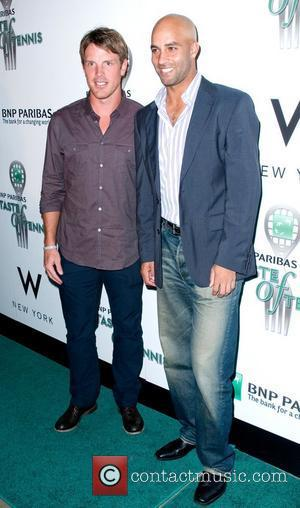 Brad Richards and James Blake 12th Annual BNP Paribas Taste of Tennis held at the W Hotel - Arrivals New...