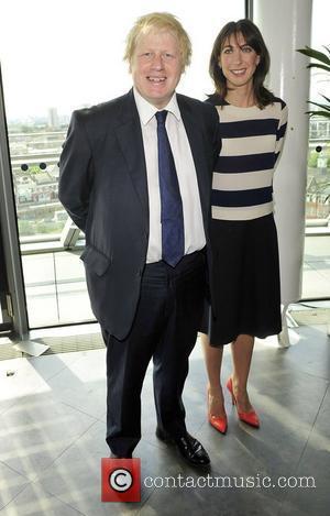 Boris Johnson and Samantha Cameron