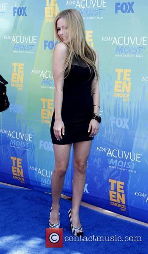 Avril Lavigne  2011 Teen Choice Awards held at Gibson Amphitheatre - Arrivals Universal City, California - 07.08.11