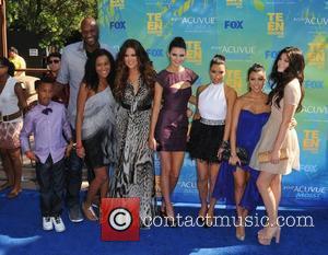 Lamar Odom, Khloe Kardashian, Kim Kardashian, Kourtney Kardashian and Kylie Jenner