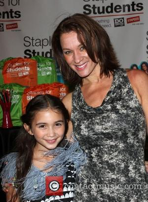 Rowan Blanchard with her mother Elisabeth Blanchard DoSomething.org and Staples Teen Choice Awards After Party held at The Gibson Amphitheatre...