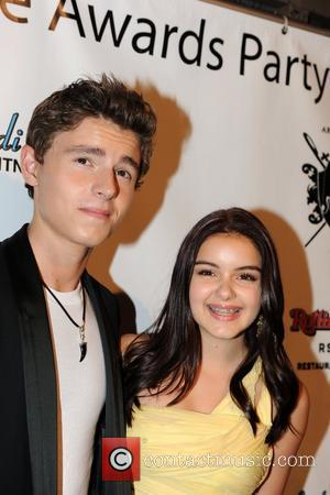 Callan McAuliffe and Ariel Winter 2011 Teen Choice Awards, Rolling Stone Lounge's Unofficial Afterparty in Hollywood  Los Angeles, California...