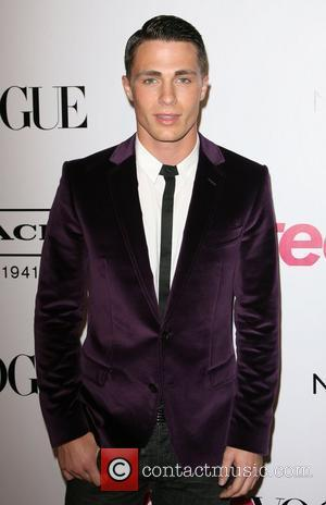 Colton Haynes 9th Annual Teen Vogue 'Young Hollywood' party held at Paramount Studios New York City Street Back Lot Los...