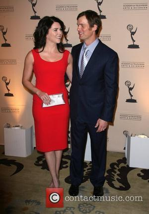 Lauren Graham and Peter Krause The Academy of Television Arts & Sciences 4th Annual 'Television Academy Honors' Gala held at...