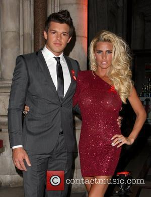 Leandro Penna and Katie Price 2011 Terrence Higgins Trust Gala dinner held at the Royal Courts of Justice London, England...