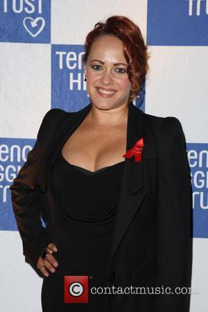 Sarah Cawood 2011 Terrence Higgins Trust Gala dinner held at the Royal Courts of Justice London, England - 16.06.11