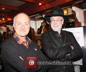 Tony Robinson and Terry Pratchett
