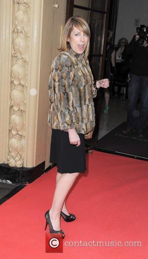Fay Ripley,  at the Tesco Magazine Mum Of The Year 2011 at The Waldorf Hilton Hotel. London, England -...