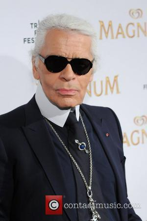 Karl Lagerfeld 2011 Tribeca Film Festival debut of Karl Lagerfeld & Rachel Bilson's original film series inspired by Magnum Ice...