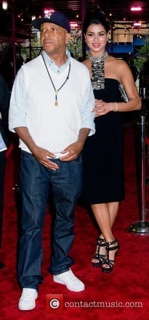 Russell Simmons and Rima Fakih