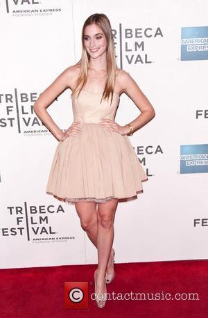 Caitlin FitzGerald 2011 Tribeca Film Festival Premiere of 'Newlyweds' at the SVA Theater - Arrivals New York City, USA -...