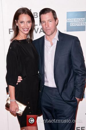 Christy Turlington Burns and Edward Burns 2011 Tribeca Film Festival Premiere of 'Newlyweds' at the SVA Theater - Arrivals New...