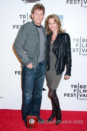 Denis Leary and Anne Leary 2011 Tribeca Film Festival opening night premiere of 'The Union' at North Cove at World...