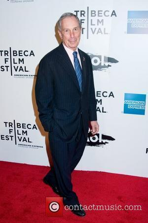 Mayor Michael Bloomberg 2011 Tribeca Film Festival opening night premiere of 'The Union' at North Cove at World Financial Center...