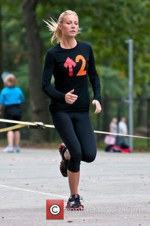 Gwyneth Paltrow and Central Park
