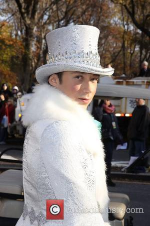 Johnny Weir  The 85th Macy's Thanksgiving Day Parade.  New York City, USA - 24.11.11