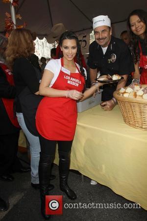 Kim Kardashian and Charlie Beck