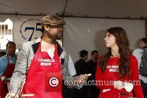 Blair Underwood and Jennifer Love Hewitt  75th anniversary of the Los Angeles Mission serving Thanksgiving dinner to the homeless,...
