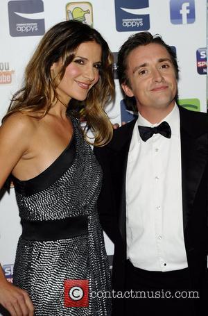 Richard Hammond and Amanda Byram at the Carphone Warehouse Appys Awards at Vinopolis - Arrivals London, England -11.04.11