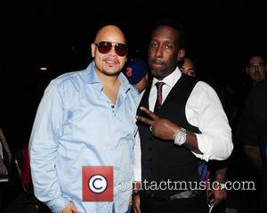 Fat Joe and Shawn Stockman of Boyz II Men  Best of the '90s Concert held at James L. Knight...