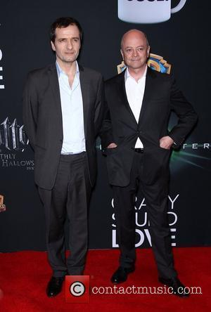 David Heyman and David Yates Warner Brothers Pictures presents 'The Big Picture 2011' event, held at 2011 CinemaCon inside Caesars...