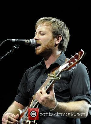 Dan Auerbach  'The Black Keys' performs on stage at the Molson Canadian Amphitheatre.  Toronto, Canada - 07.7.11
