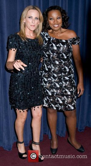 Marlee Matlin and Star Jones The Academy of Television Arts and Sciences presents an evening with 'The Celebrity Apprentice' -...