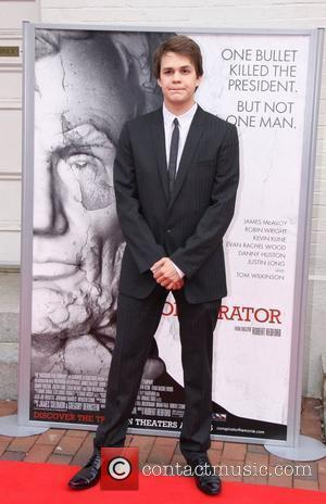Johnny Simmons World Premiere of the The Conspirator at Fords Theatre - Arrivals Washington DC, USA - 10.04.11