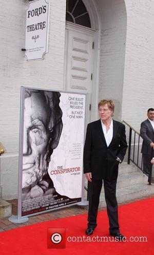 Robert Redford World Premiere of the The Conspirator at Fords Theatre - Arrivals Washington DC, USA - 10.04.11
