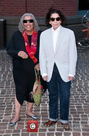 Toni Morrison and Fran Lebowitz Screening of 'The Debt' held at the Tribeca Grand Hotel - Outside Arrivals New York...