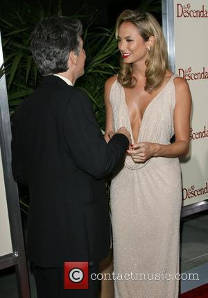 Alexander Payne and Stacy Keibler