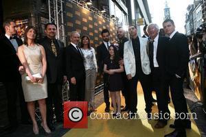 Dominic Cooper, Mem Ferda and Michael Thomas